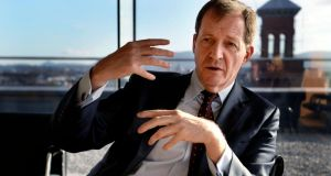 Alastair Campbell: 'I don't buy the idea that sport can't survive financially without sponsorship [from the alcohol industry].' Photograph: David Sleator