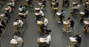 Department of Education wants 30 per cent of Leaving Cert students to take higher maths by 2020. Photograph: Alan Betson / THE IRISH TIMES