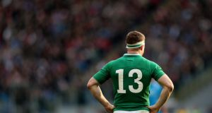 Brian O'Driscoll is facing into the last two games of his stellar Test career. Photograph: INPHO/James Crombie