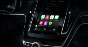 Volvo, along with Ferrari and Mercedes, will be among the first to fit Apple's CarPlay software.
