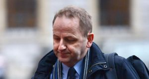 Garda Sgt Maurice McCabe who has been criticised by the former Garda confidential recipient for taping conversations with him. Photograph: Cyril Byrne/The Irish Times