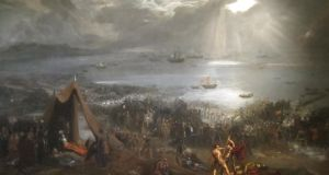 On show in Ireland: Battle of Clontarf, a huge painting by Hugh Frazer from 1826, is on view at the Casino at Marino, Dublin, from March 15th to April 24th