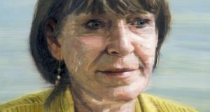 Colin Davidson's portrait of Marie Jones, which hangs at Belfast's Lyric