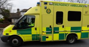 """All local resources were engaged on emergency calls at the time of this incident,"" the HSE said, ""and the nearest available emergency ambulance was dispatched from Virginia once it became free."" Photograph: Cyril Byrne/The Irish Times"