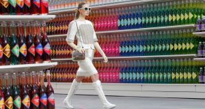 Chanel catwalk Photograph Reuters