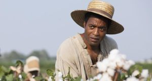 Chiwetel Ejiofor plays Northup Solomon in Academy Award winning 12 Years a Slave.