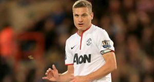 Manchester United captain Nemanja Vidic will play for Inter Milan next season, the Italian club have announced. Photograph: Nick Potts/PA Wire