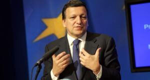 European Commission president Jose Manuel Barroso.