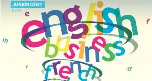 Junior Cert English, Irish, French and Business