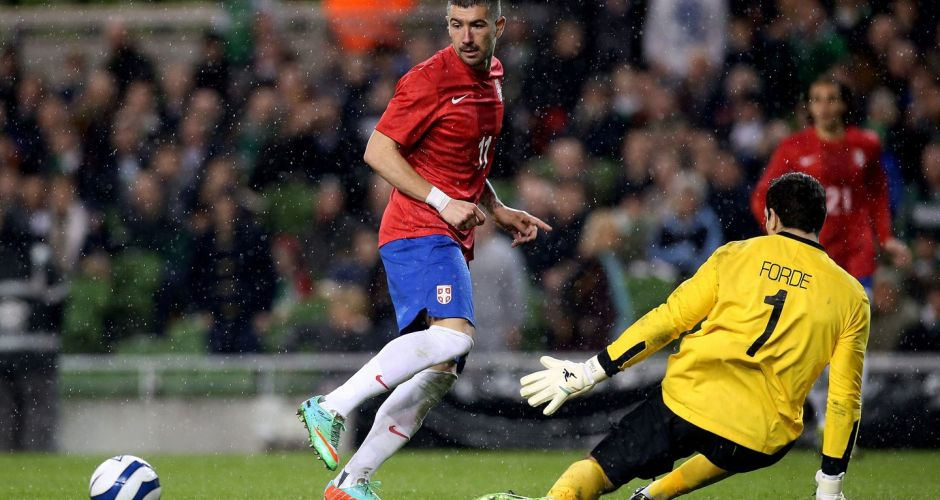 Ireland 1 Serbia 2: in pictures