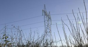 Eirgrid plans to upgrade network. Photograph: Brenda Fitzsimons