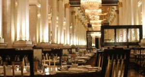Dining in splendour at the Zabeel Saray
