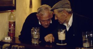 C'mere to me: pub philosophers. Photograph: Getty Images