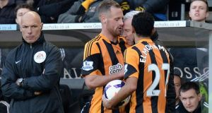 Newcastle United manager Alan Pardew has sought a personal hearing from the FA over his misconduct charge for headbutting Hull City midfielder David Meyler. Photograph: Tony Marshall/Getty Images