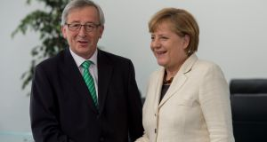 Jean-Claude Juncker is the favourite to be put forward for European Commission president, mainly because he has received the support of Angela Merkel's Christian Democratic Union (CDU) party. Photograph: Getty