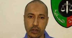 "Libyan government says Saadi Gadafy will receive ""just and fair"" treatment following his extradition to Libya from Niger. Photograph: Reuters"