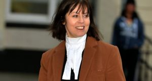 Úna Ní Raifeartaigh SC, counsel for the prosecution in Anglo trial. Photograph: David Sleator/The Irish Times