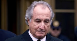 Bernard Madoff: sentenced in the US to 150 years in prison