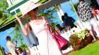 Stepping out in style at the International Polo Club Palm Beach