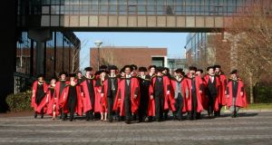 Graduates from the faculty of science and engineering at UL