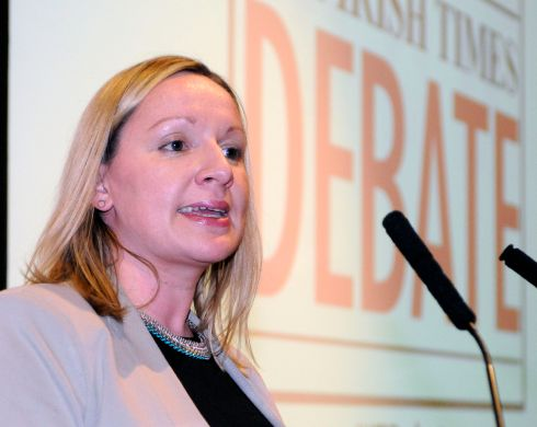 Lucinda Creighton, TD chaired the debate. Photograph: Dave Meehan