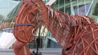 The National Theatre's award-winning production of War Horse comes to the Bord Gáis Energy Theatre from March 26th to April 26th. We spoke to the director and a few of the show's performers about bringing Joey's story to life. Video: Kathleen Harris