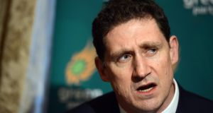 Green Party leader Eamon Ryan has taken a gamble by standing in Europe. Photograph: Cyril Byrne / Irish Times