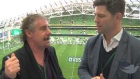 Gerry Thronley and Liam Toland give their full time reaction on the Ireland V Italy match at Aviva stadium.