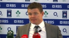Brian O'Driscoll on Irish fans and championship hopes.