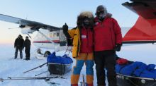 Another adventure begins: Irish adventurers start out for the North Pole