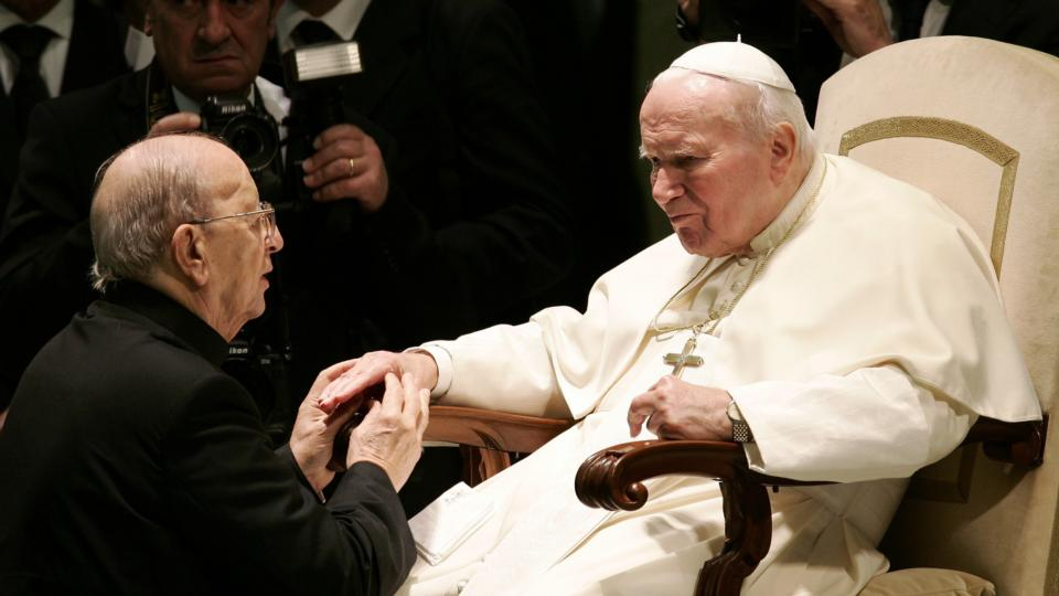 Two popes to be canonised 'did nothing' about Maciel allegations