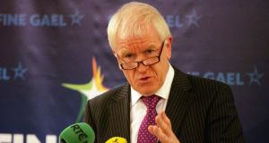Minister for Arts, Heritage and the Gaeltacht Jimmy Deenihan: has put a four-week stay on plans by Waterways Ireland to break up the Aran island ferry Naomh Éanna. Photograph: Alan Betson