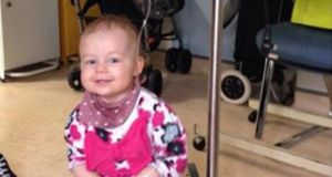 Eighteen-month-old Alice Turner has the rare childhood cancer neuroblastoma.