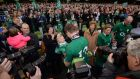 Brian O'Driscoll's last home International