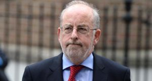 Governor Patrick Honohan: Irish banks have for the past three to four years been working through the SME loans on their books in a very systematic way.  Photograph: Dara Mac Dónaill/The Irish Times