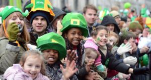 Hopes have been raised that St Patrick's Day 2014 will bring good weather.  Photograph: Alan Betson/The Irish Times