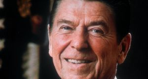 Former US president Ronald Reagan who died in 2004 after a long  struggle with Alzheimer's disease. He was 93. Photograph: AP Photo