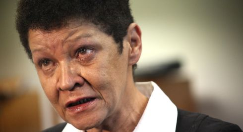 Christine Buckley gives her response to the publication of the Commission to Inquire into Child Abuse report in May 2009.