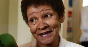 Christine Buckley recounted her memories of Goldenbridge orphanage in a drama-documentary, Dear Daughter, broadcast by RTÉ television in 1996. Dear Daughter attracted a huge audience. Photograph: Cyril Byrne/The Irish Times