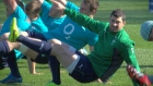 The Irish team are busy preparing for this weekend's crucial fixture with France.