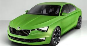Vision C: Skoda's sleek, premium-looking concept