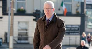 Witness Con Horan at Dublin Circuit Criminal Court yesterday. Photograph: Collins Courts.