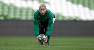 Ireland's Niamh Briggs: winner of the February award.