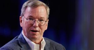 Executive chairman of Google Eric Schmidt: Tribunal told of executive's alleged interference. Photographer: Patrick T Fallon/Bloomberg