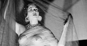 Wilde child: Agnes Bernelle as Salome in London in 1954. Photograph: Walter Bellamy/Express/Getty