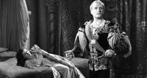 Laurence Olivier as Hamlet and Eileen Herlie as Queen Gertrude in Olivier's film version of Shakespeare's Hamlet. Photograph: Hulton Archive/Getty Images