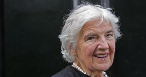 A lifetime achievement award has been  presented at the Irish Food Writers' Guild Food Awards to Myrtle Allen of Cork's Ballymaloe House, marking her 90th birthday, which falls today. Photograph: Eric Luke/The Irish Times