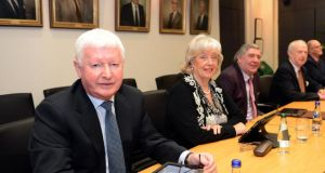 Frank Flannery at a Rehab Group board meeting in Sandymount, Dublin, in 2013. Mr Flannery, a former Rehab director, invoiced the charity for €66,000 in 2012 and €11,000 in 2011 using Laragh Consulting Ltd, with an address in Finglas, Dublin. Photograph: Eric Luke
