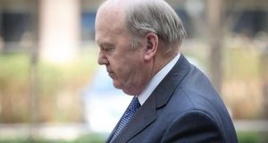 Michael Noonan: lobbied by Frank Flannery