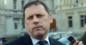 "Barry Cowen said the Government's mantra was: ""Oh, it's all your fault and what we've inherited and what we did and what we did not do."" Photograph: Eric Luke/The Irish Times"